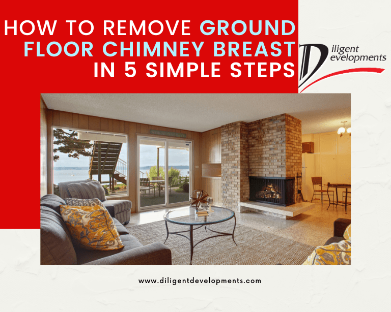 Remove ground floor chimney breast in five simple steps blog post