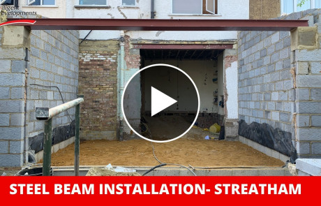 rsj steel beam installation streatham video thumbnail
