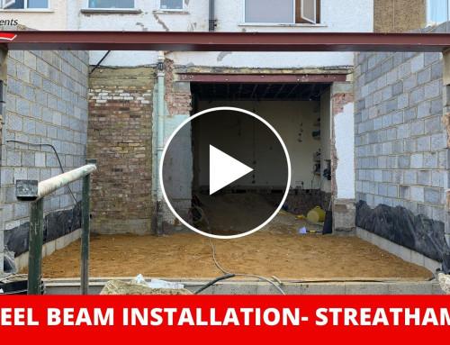 RSJ Steel Beam Installation – Streatham SW!6