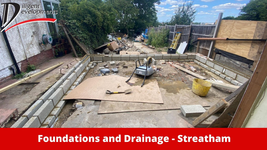 Foundations and Drainage in Streatham London