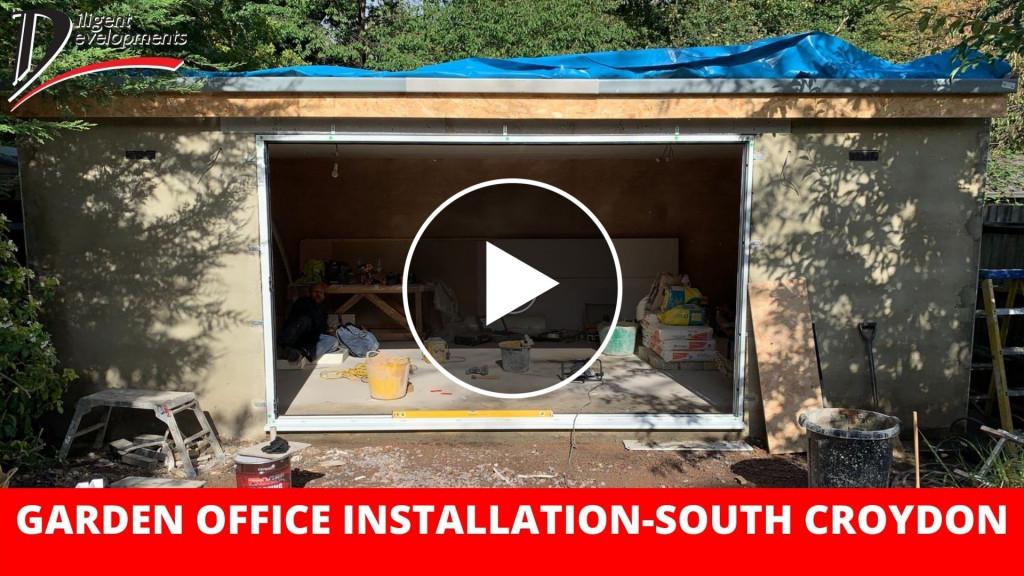 Garden Office Construction – South Croydon