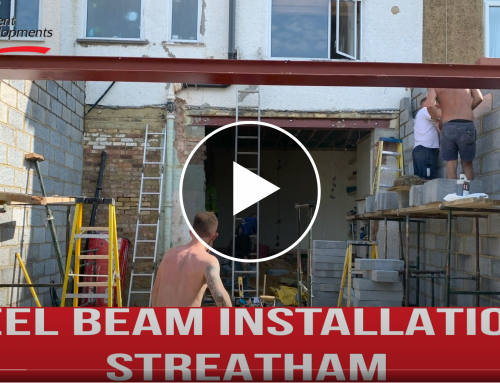 Steel Beam Installation – Streatham London