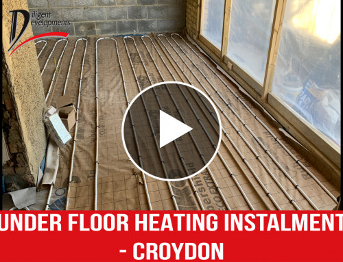 Underfloor Heating installation – Croydon, Thornton Heath