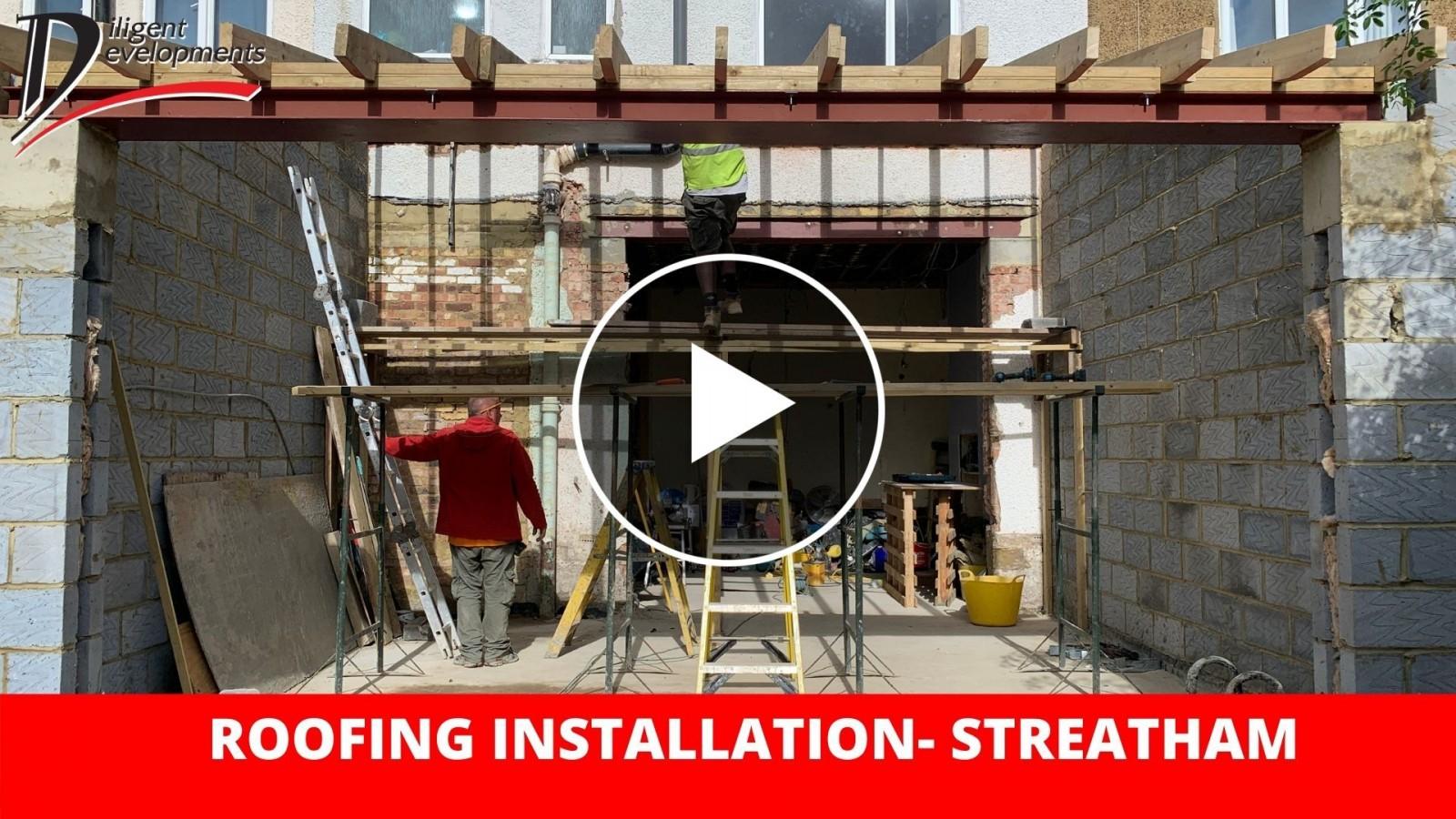 Roofing Installation - Streatham