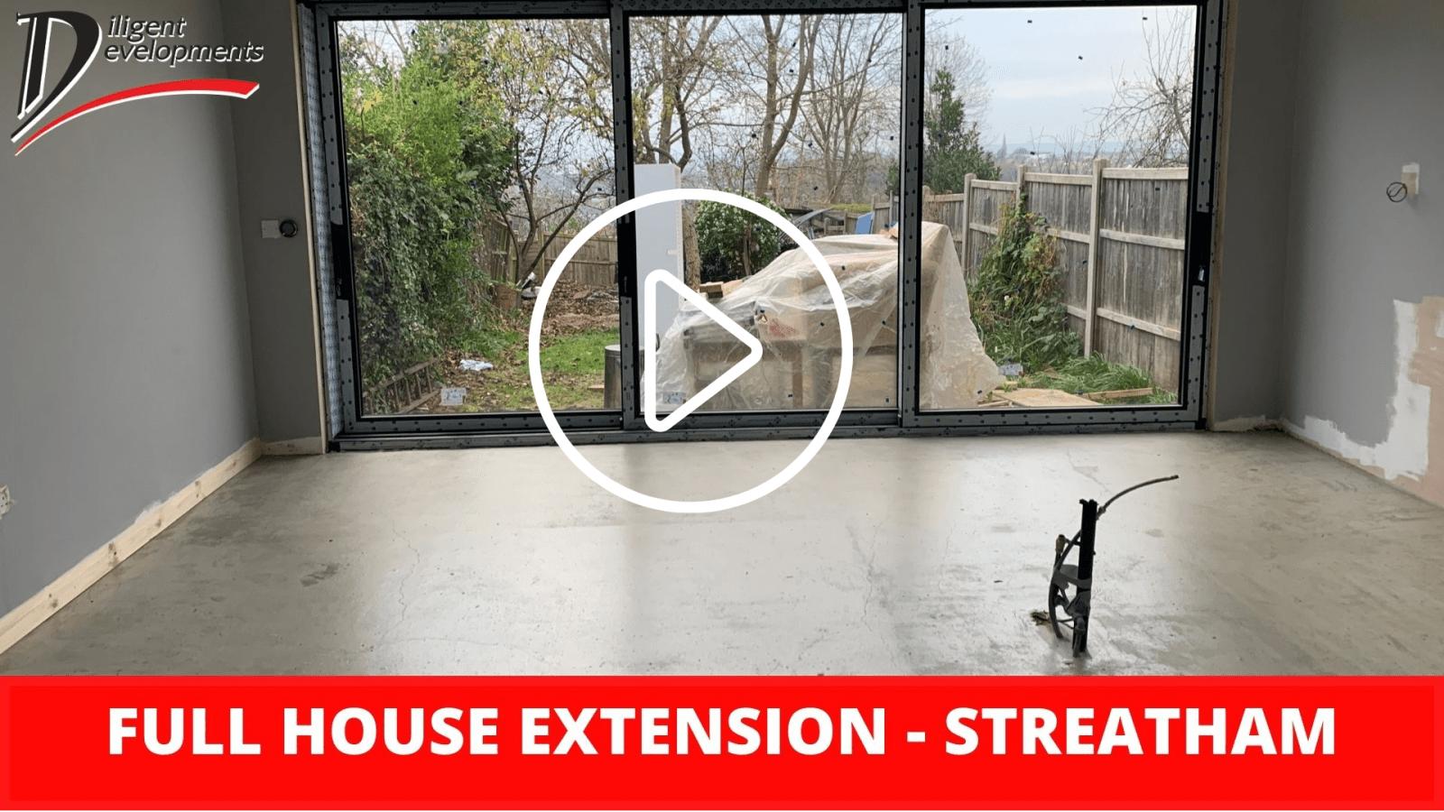 Full Home Extension - Streatham