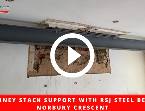 Chimney Stack Support with RSJ Steel Beam – Norbury Crescent
